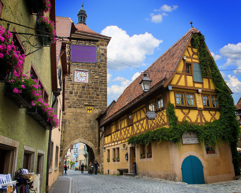 Tour Rothenburg ob der Tauber Transfer Ibel Bayern Munich