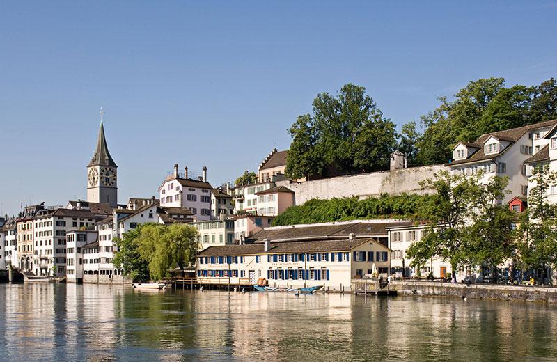 Tour nach Zürich Bankenmetropole am Zürichsee Schweiz Transfer Ibel München